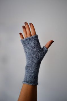 Items similar to Gray alpaca wool arm warmers, Gray women gloves, Winter gloves, Gray fingerless gloves,Gray accessories on Etsy Grey Gloves, Wool Gloves, Knitted Gloves, Fingerless Mitts, Poncho, Knit Mittens, Alpaca Wool, Hand Warmers, Hand Knitting