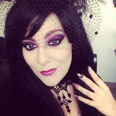 goth makeup https://i.instagram.com/abigailvondoll/