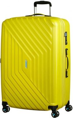 American Tourister Air Force 1 4-Rad Trolley 76cm 06 sunny yellow