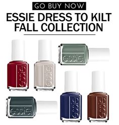 Essie's 'Dress To Kilt' Fall Collection