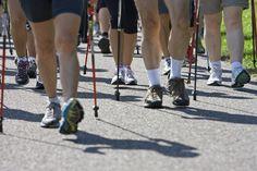 Halten sich fit: Teilnehmerinnen und Teilnehmern des Aqua-Walks Greifensee Aqua, Fit, Sports, Medicine, Hs Sports, Water, Shape, Sport