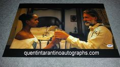 My Quentin Tarantino Autograph Collection: Kerry Washington and Christoph Waltz of Django Unc...