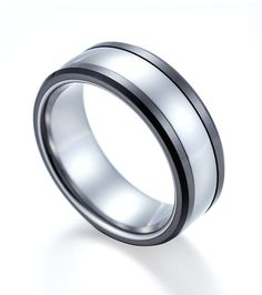 #tungstenrepublic.com     #ring                     #High #Polished #Tungsten #Ring #Combined #with #Black #Ceramic               High Polished Tungsten Ring Combined with Black Ceramic                                                 http://www.seapai.com/product.aspx?PID=1093074