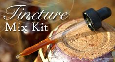 Specials: Tincture Mix Kit  Kit contains 1/2 pound each of:  - Cough Tea mix  - Double-E Immune Booster mix  - Snooze Tincture mix  - ImLife Tincture mix