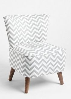 fun chair! also comes in a pretty pale yellow, dusty charcoal and navy blue :) --urban outfitters
