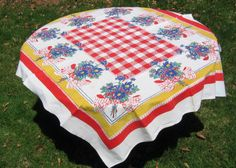 Vintage Tablecloths - I Antique Online