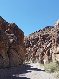 Road along Wrong Way Canyon
