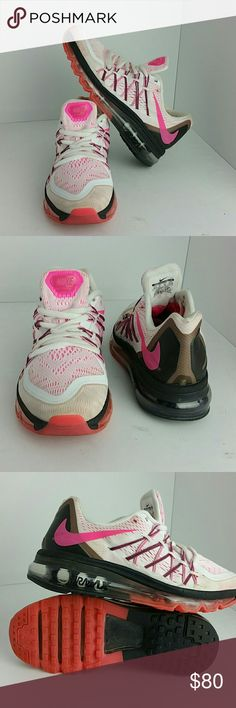 NIKE AIR MAX 2015 WOMEN SHOES IN GOOD CONDITION   SKE # BJ NIKE Shoes Athletic Shoes