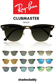 1cb2420c332 The new Ray-Ban RB3016 clubmaster sunglasses range is said to represent the