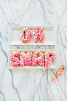 Oh Snap, Letter Donuts!