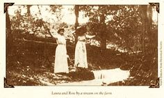 Laura Ingalls Wilder and her daughter Rose