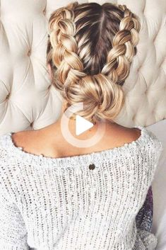 63 Amazing Braid Hairstyles For Party And Holidays #braidedUpdos  #coolhairstyles #shortsummerhairstyles Medium Hair Styles, Curly Hair Styles, Natural Hair Styles, Hair Medium, Hair Braiding Styles, Medium Long, Hair Plaits, Braids For Medium Length Hair, Medium Curly