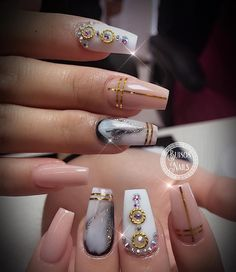 """167 Likes, 3 Comments - Bui808 Nails (@bui808_nails) on Instagram: """"My customer love elegant nails what about you? #nailsmagazine #nailpro #uglyducklingnails…"""""""
