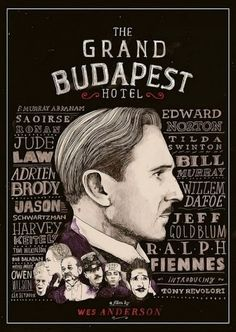 The Grand Hotel Budapest Poster