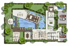World's Nicest Resort Floor Plans | Saisawan - Beach Villas Type 2 Ground Floor Plan