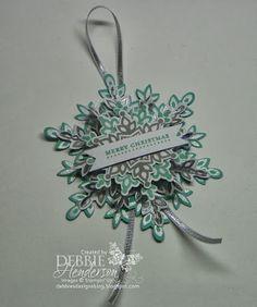 Debbie's Designs: Christmas Banner, Christmas Card & Christmas Gift or Bag Topper Stamp Camp!