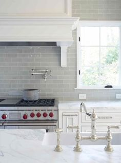 Subway Tiles: Gallerie B I Love everything this designer does. Remember to look at her for your design styles!!