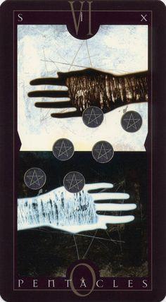 Vertigo Tarot / Six of Pentacles
