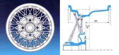 Borrani wire wheel | SMCars.Net - Car Blueprints Forum