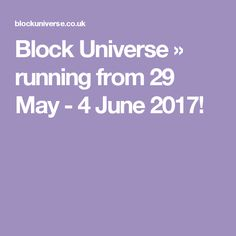 Block Universe is an annual festival that brings together a new wave of cutting-edge performance art. Exhibitions, Universe, June, Running, Racing, Keep Running, Outer Space, Track, The Universe