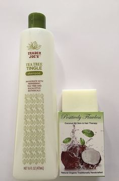 Trader Joe's Nourish Botanicals Condtioner (or Tea Tingle Shampoo) PositivelyFlawless Eclipta Alba Hair Regrowth Serum - Hair Regrowth Kit ** This is an Amazon Affiliate link. Be sure to check out this awesome product.