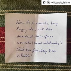 """#Repost @wildandsublime: """"How do I reconcile being happy alone, and the occasional desire for a romantic/sexual relationship? Isn't true friendship more valuable?"""" an audience member asked at our March 13 show. Do you have questions about dating? Especially during this time? 🖤 TONIGHT Host Karen Yates and Wild & Sublime recurring guest Jera Brown, Rebellious Magazine's Lifestyle Editor, will be discussing dating and starting relationships during the COVID-19 crisis. 💖😷💖😷 They're going… Happy Alone, Editor, Friendship, Relationships, March, Dating, Romantic, Magazine, This Or That Questions"""