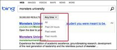 Bing Adds Search Filter To Sort Results By Time Period #bing