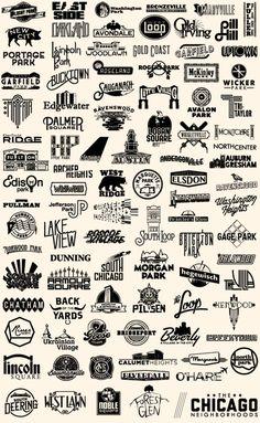 The Chicago Neighborhoods - Steve Shanabruch Graphic Design | Chicago, IL