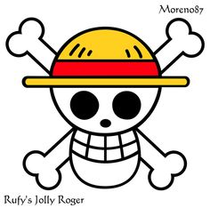 Luffy's Jolly Roger by Moreno87 on deviantART