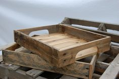 """The definition for pallet according to www.dictionary.com is """"a small, low, portable platform, on which goods are placed for storage or moving as in a warehouse"""