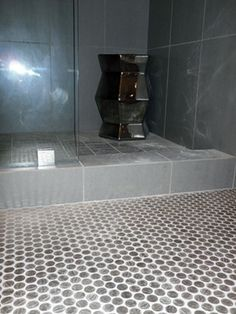 Nickel tiled floor! (For those who'd want silver & not copper!)