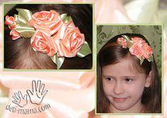 МК по созданию розы из ткани