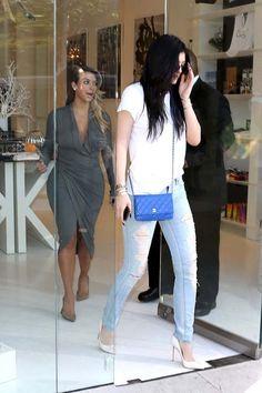 Kylie Jenner wearing Cartier Love Bracelet