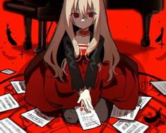 Art by 画纱 on pixiv Horror Video Games, Rpg Horror Games, Alice Mare, Mad Father, Corpse Party, Satsuriku No Tenshi, Cute Art Styles, Rpg Maker, Kawaii