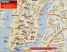 Fdny Division Map 15 Best FDNY   Division Maps images in 2018 | City maps, Division