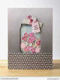 Art♥from♥the♥Heart: {Simon Says Stamp + Mama Elephant} Filled With Love Blog Hop + Video!