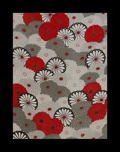 Neo-Japanese Art, Design and calligraphy, Washi Paper collages and Kimono Fabrics Design, Body Art and Performance by Rie Takeda Japanese Artwork, Japanese Paper, Japanese Prints, Japanese Fabric, Japanese Textiles, Japanese Patterns, Japanese Modern, Vintage Japanese, Textile Patterns