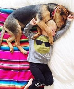 Famous Napping Toddler And Puppy Are Still Just As Cute As Ever