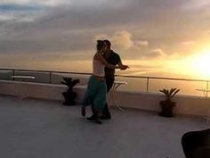 Gorgeous video of dancing tango outside in Greece, I think.
