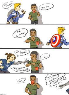 Mother- hen Bucky