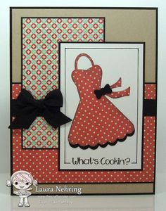 Your Next Stamp - Sugar and Spice Large Apron Die and Recipe Card Set (sentiment), SC437
