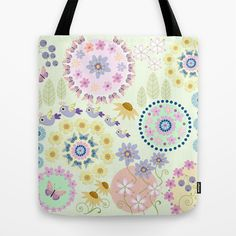Summer Impression  Tote Bag by Thea Walstra