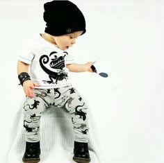 Baby boy girl clothing set cute t shirt+pants 2pcs baby girl infant clothing
