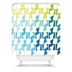 Karen Harris Bravo Cool Shower Curtain