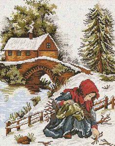 13 – 06 Б 11 06 – logopedd - Kreuzstich Cross Stitch Christmas Ornaments, Xmas Cross Stitch, Cross Stitch Kits, Christmas Cross, Cross Stitch Charts, Cross Stitch Designs, Cross Stitching, Cross Stitch Embroidery, Cross Stitch Patterns