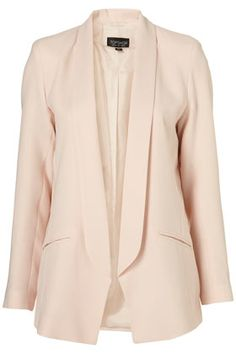 Peach blazer...love.