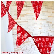 I've been seeing bunting everywhere lately. You know, those little flags that you can string up for decorations. So when I found some very cute red and white Christmas fabric in Spotlight recently I had to make some of my own. Here's how I did it. What you'll need: Fabric – I used about half...Read More »