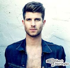 Short Hairstyles For Men Long Face 2014