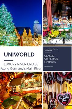 A complete review of each stop between Frankfurt and Nuremberg on my amazing Classic Christmas Markets cruise down Germany's Main River with Uniworld. #exploreuniworld