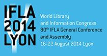 World Library and Information Congress 2014, 80th IFLA General Conference and Assembly, Lyon, France